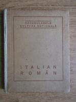 Anticariat: G. Banea - Dictionar Italian-Roman (1922)