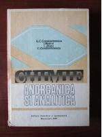 G. C. Constantinescu - Chimie anorganica si analitica