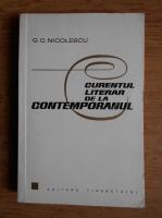 G. C. Nicolescu - Curentul literar de la contemporanul