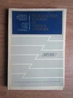 Anticariat: G. Calinescu - Metodologia istoriei si criticii literare