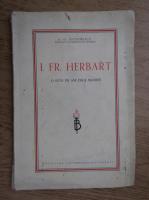 G. G. Antonescu - I. FR. Herbart. O suta de ani de la moarte (1941)