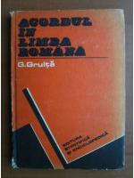 Anticariat: G Gruita - Acordul in limba romana