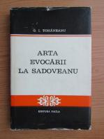 G. I. Tohaneanu - Arta evocarii la Sadoveanu