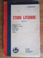 G. Ibraileanu - Studii literare (1931)