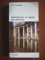 G.M. Cantacuzino - Introducere la opera lui Vitruviu