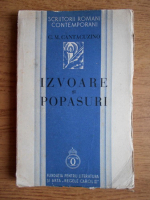 Anticariat: G. M. Cantacuzino - Izvoare si popasuri (1934)