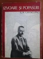 G. M. Cantacuzino - Izvoare si popasuri