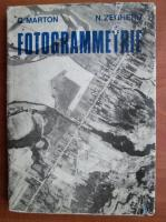 Anticariat: G. Marton - Fotogrammetrie