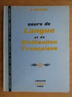 G. Mauger - Cours de langue et de civilisation francaises (volumul 2)