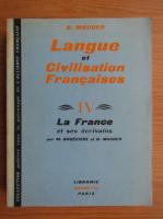 G. Mauger - La France et ses ecrivains (volumul 4)