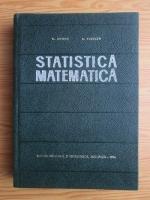 G. Mihoc - Statistica matematica