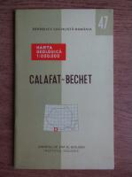 G. Murgeanu - Harta geologica. Calafat-Bechet
