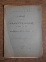 G. Murgoci - Raport asupra lucrarilor sectiunei agrogeologice (1908)
