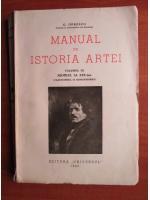 G. Oprescu - Manual de istoria artei (volumul 3 - secolul al XIX-lea, clasicismul si romantismul) (1945)