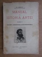 G. Oprescu - Manual de istoria artei (volumul 4, 1946)