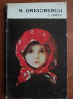 G. Oprescu - N. Grigorescu
