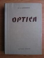 Anticariat: G. S. Landsberg - Optica