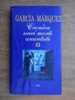 Gabriel Garcia Marquez - Cronica unei morti anuntate