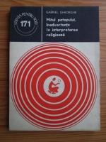comperta: Gabriel Gheorghe - Mitul potopului. Inadvertente in interpretarea religioasa