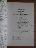 Anticariat: Gabriel Plesea - Concordia ca necesitate inteleasa. Peticul pe gaura din Drapel (cu autograful autorului)
