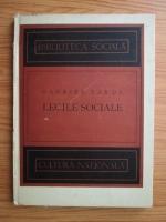 Gabriel Tarde - Legile sociale (1924)