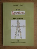 Gabriela Pantel - Revista Luceafarul. Marca europeana