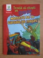 Gail Herman - Invata sa citesti cu Scooby Doo. Monstrul de la cursele de masini, nivelul 2