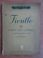 Garabet Avachian - Fiorillo. Studii sau capricii