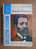 Anticariat: Garabet Ibraileanu - Studii literare