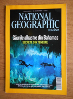 Gaurile albastre din Bahamas (revista National Geographic, nr. 88, august 2010)