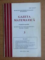Anticariat: Gazeta matematica, anul CVI, nr. 3, 2001