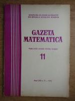Anticariat: Gazeta Matematica, anul LXXX, nr. 11, 1975