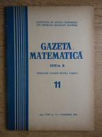 Anticariat: Gazeta Matematica, anul XXIII, nr. 11, noiembrie 1972