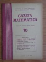 Anticariat: Gazeta Matematica, Seria B, anul LXXXI, nr. 10, 1976