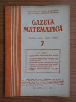 Anticariat: Gazeta Matematica, Seria B, anul LXXXII, nr. 7, 1977