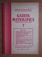 Anticariat: Gazeta Matematica, Seria B, anul LXXXVII, nr. 7, 1982