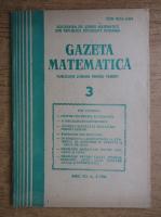 Anticariat: Gazeta Matematica, Seria B, anul XCI, nr. 3, 1986