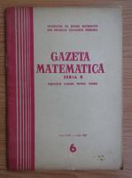 Anticariat: Gazeta Matematica, Seria B, anul XVIII, nr. 6, iunie 1967