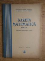 Anticariat: Gazeta Matematica, Seria B, anul XX, nr. 4, aprilie 1969