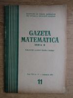 Anticariat: Gazeta Matematica, Seria B, anul XXI, nr. 11, noiembrie 1970