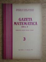 Gazeta Matematica, Seria B, anul XXII, nr. 3, februarie 1971