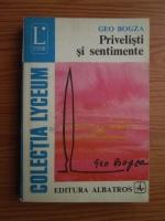 Anticariat: Geo Bogza - Privelisti si sentimente