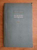 Anticariat: Geo Bogza - Scrieri in proza (volumul 2)