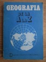 Geografia de la A la Z (Dictionar de termeni geografici)