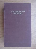 Anticariat: Georg Grimm - Die Lehre des buddho