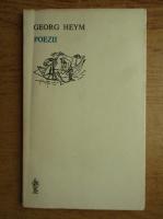 Anticariat: Georg Heym - Poezii
