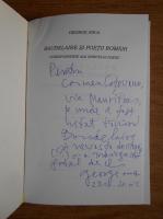 George Anca - Baudelaire si poetii romani. Corespondente ale spiritului poetic (cu autograful autorului)