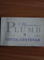 George Bacovia - Plumb (editia centenar)