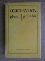 George Bacovia - Plumb (editie bilingva romana si italiana)