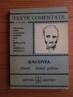 George Bacovia - Plumb. Scantei galbene